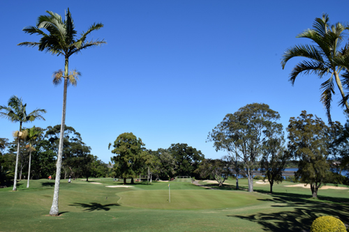 Ballina Golf Club - Hole 12