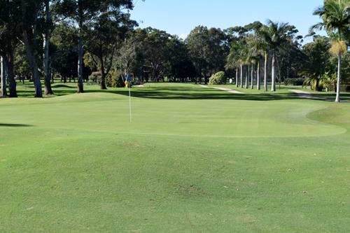 Ballina Golf Club - Hole 9